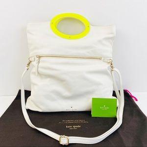 Kate Spade Convertible Shoulder Bag Clutch White